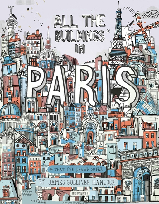 'all the buildings in paris'